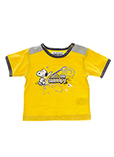 Snoopy T-shirt / Top Jaune Man