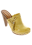 Guess Chaussure Jaune Mules/sa