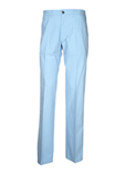 New Man Pantalon Bleu Ciel Pan