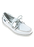 Sebago Chaussure Blanc Mocassi