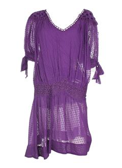 MODZ - FAIRLY Robe MAGENTA Robe mi-longue FEMME