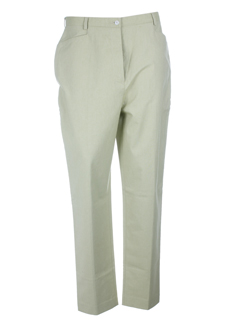NOLWENN Pantalon VERT CLAIR Pantalon décontracté FEMME