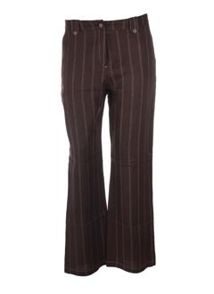 KIPLAY Pantalon CHOCOLAT Pantalon décontracté FEMME