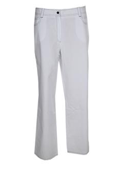 QUATTRO Pantalon BLANC Pantalon décontracté FEMME