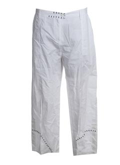 JACQUES RUC Pantalon BLANC Pantalon décontracté FEMME