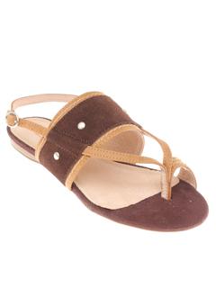 MODZ - PILAR ABRIL Chaussure MARRON Sandales/Nu pied FEMME
