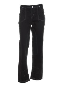 R 867 Pantalon ANTHRACITE Pantalon décontracté FEMME (photo)