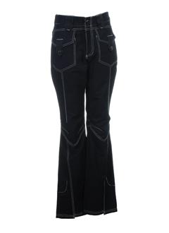 R 867 Pantalon NOIR Pantalon décontracté FEMME (photo)