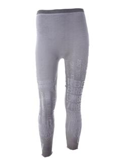R 867 Pantalon GRIS Legging long FEMME (photo)