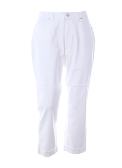 TRUSSARDI JEANS Pantalon BLANC Pantalon décontracté FEMME