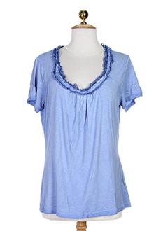 SALT & PEPPER T-shirt / Top BLEU Manche courte FEMME