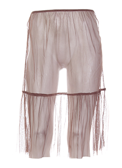 NÜ Jupe MARRON CLAIR Jupons/Fond de robe FEMME (photo)