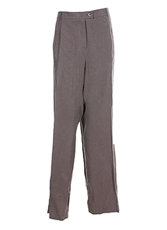 BRUNO SAINT HILAIRE Pantalon MARRON Pantalon citadin FEMME (photo)