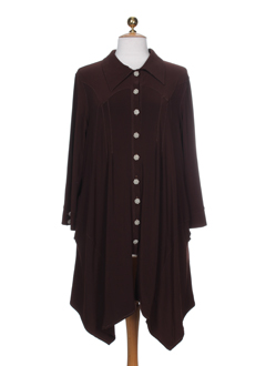 BE THE QUEEN Gilet MARRON Cardigan FEMME (photo)