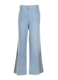 BE THE QUEEN Pantalon BLEU CLAIR Pantalon décontracté FEMME (photo)