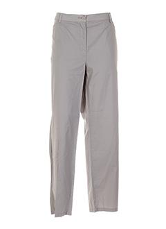 BE THE QUEEN Pantalon BEIGE Pantalon décontracté FEMME (photo)