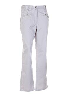 BE THE QUEEN Pantalon BEIGE CLAIR Pantalon décontracté FEMME (photo)