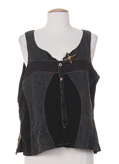 BE THE QUEEN Gilet GRIS FONCE Gilet FEMME (photo)