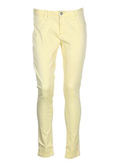 B.YOUNG Pantalon JAUNE Pantalon décontracté FEMME (photo)