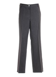 BE THE QUEEN Pantalon GRIS Pantalon citadin FEMME (photo)