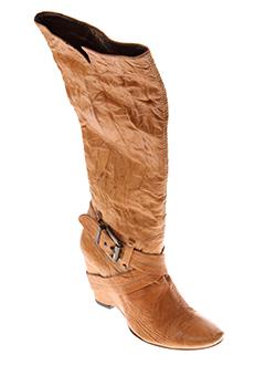 IKI Chaussure ORANGE Botte FEMME