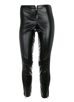 ZONE BLEUE Pantalon NOIR Legging FEMME (photo)