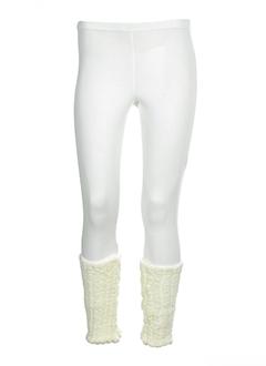 ZONE BLEUE Pantalon BLANC Pantalon décontracté FEMME (photo)