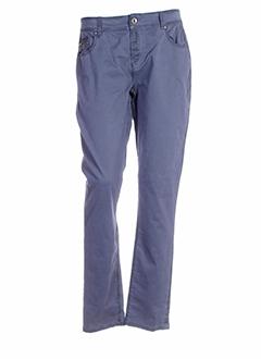R 867 Pantalon BLEU Pantalon décontracté FEMME (photo)