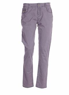 R 867 Pantalon VIOLET Pantalon décontracté FEMME (photo)