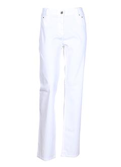 PAZ TORRAS Pantalon BLANC Pantalon décontracté FEMME (photo)