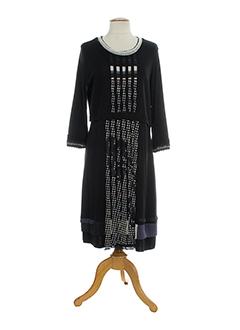 DIDIER PARAKIAN Robe NOIR Robe longue FEMME (photo)