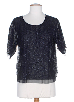 CHARLIE JOE T-shirt / Top NOIR Top FEMME (photo)