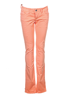 TIFFOSI Pantalon ORANGE Pantalon décontracté FEMME (photo)