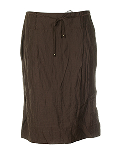 GERRY WEBER Jupe MARRON Jupe mi-longue FEMME (photo)