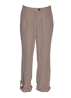EUGEN KLEIN Pantalon MARRON Pantalon décontracté FEMME (photo)