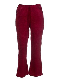NID D'ABEILLE Pantalon ROUGE Pantalon décontracté FEMME (photo)