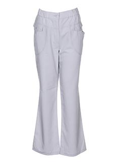 S.QUISE Pantalon GRIS Pantalon citadin FEMME (photo)