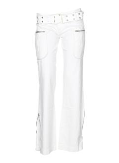 MISS SIXTY Pantalon BLANC Pantalon décontracté FEMME (photo)