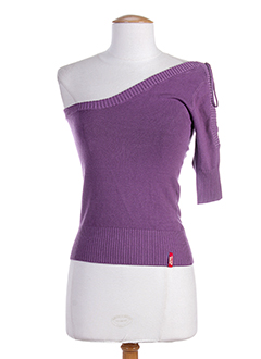 MISS SIXTY Pull VIOLET Col rond FEMME (photo)