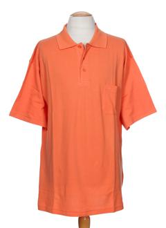 LUCCHINI T-shirt / Top ORANGE Polo FEMME (photo)