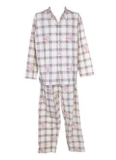 Coup de coeur nuit beige pyjama homme chez modz - Pyjama homme marque coup de coeur ...