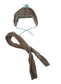 3 POMMES Accessoire MARRON Chapeaux/Bonnet ENFANT (photo)