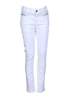 G STAR Pantalon BLANC Pantalon décontracté FEMME (photo)