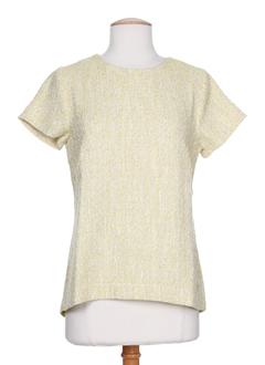 CKS T-shirt / Top JAUNE Top FEMME (photo)