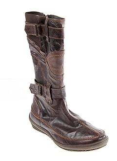 LE ROUTARD Chaussure MARRON Botte FEMME
