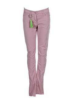 CKS Pantalon ROSE Pantalon décontracté FEMME (photo)