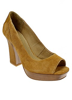 LA FEE MARABOUTEE Chaussure MARRON Escarpin FEMME (photo)