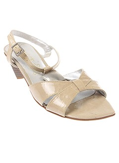 SWEET Chaussure BEIGE Sandales/Nu pied FEMME (photo)