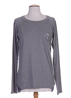 BANANA MOON T-shirt / Top GRIS Manche longue FEMME (photo)