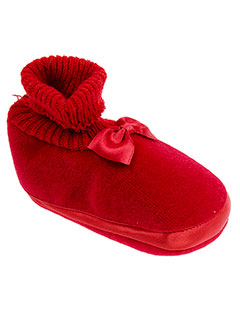 BABYBOTTE Chaussure ROUGE Chausson FILLE (photo)